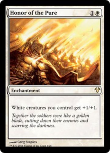 Mtg White Soldier Deck Honor Of The Pure Magic The Gathering Rare