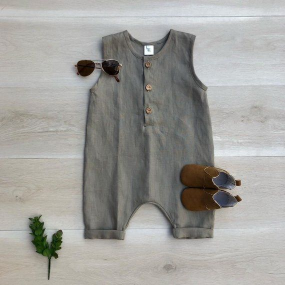 Photo of PDF Pattern – Henley Romper – Babies/Toddlers/Kids – Sizes Premie to 5/6T – Instant Download – Easy Photo Tutorial