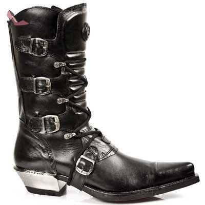 Rock S1 new Noir 7993 M Bottes New rock Chaussures West NnmOyv80w