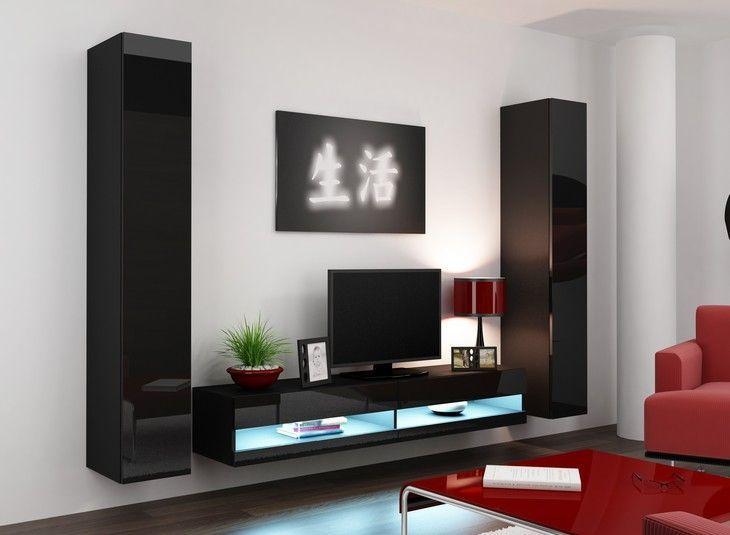 Living Room Furniture VIGO 04 MODULAR FURNITURE SET Suitable For Screen Size 32