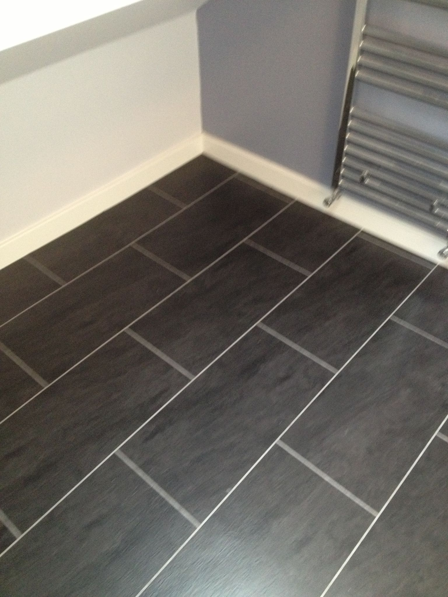 Polyflor colonia welsh raven slate with an ice grout strip home polyflor colonia welsh raven slate with an ice grout strip doublecrazyfo Image collections