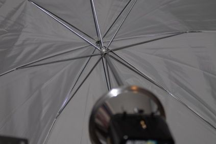 How To Use Umbrella Lights Endearing How To Use Umbrella Lights During Studio Photography  Ehow Design Decoration