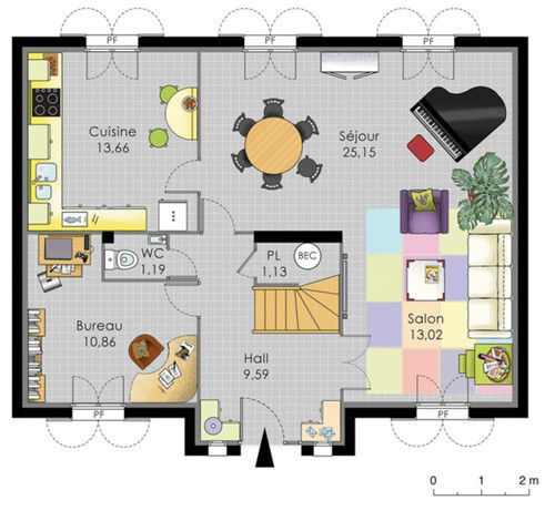 maison familiale 8 villas and architecture. Black Bedroom Furniture Sets. Home Design Ideas