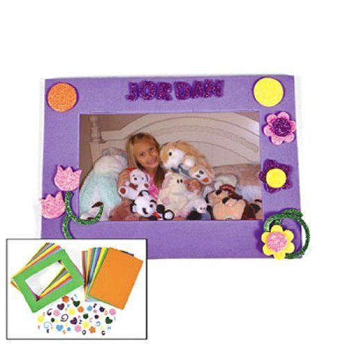 Unique Foam Picture Frame Craft Kits Adornment - Picture Frame ...