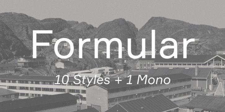 Formular font download