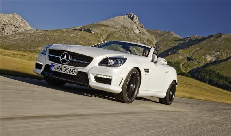 2012 Mercedes-Benz SLK55 AMG Image