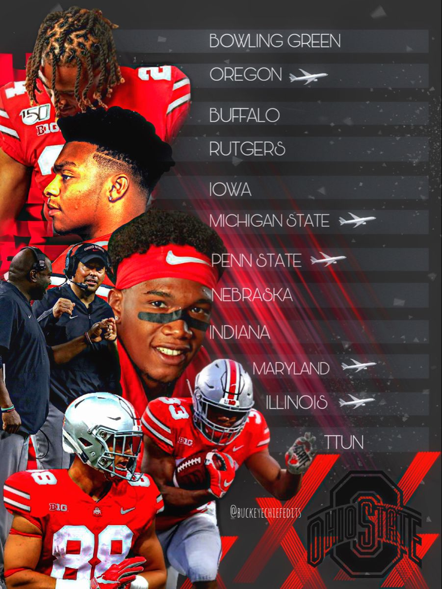 Ohio State Football Schedule 2020 In 2020 Illinois Football Ohio State Football Schedule Ohio State Football