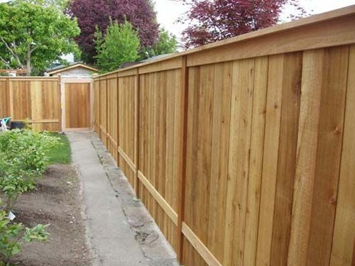 Another Fence Style I Like Fence Design Wood Fence Design