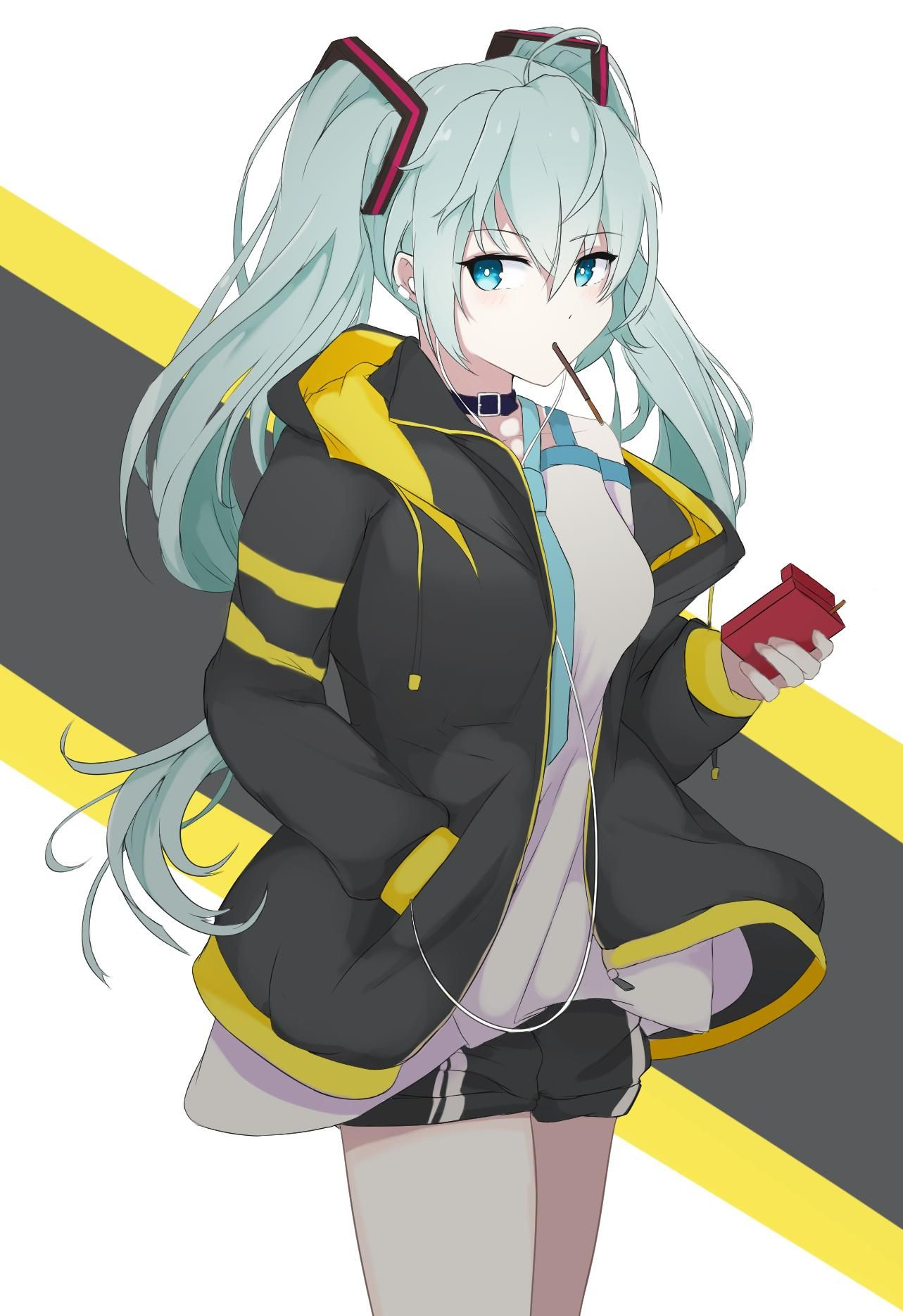 Miku listening to music [Vocaloid] in 2020 (With images