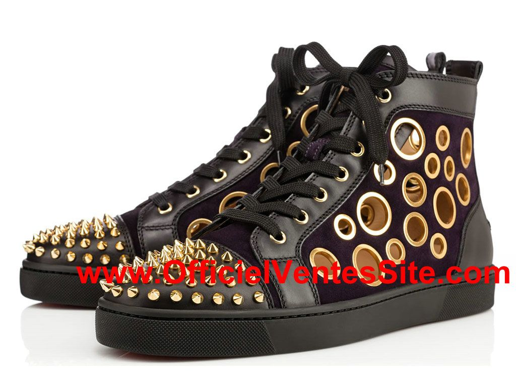 basket noir adidas homme chaussure homme louboutin
