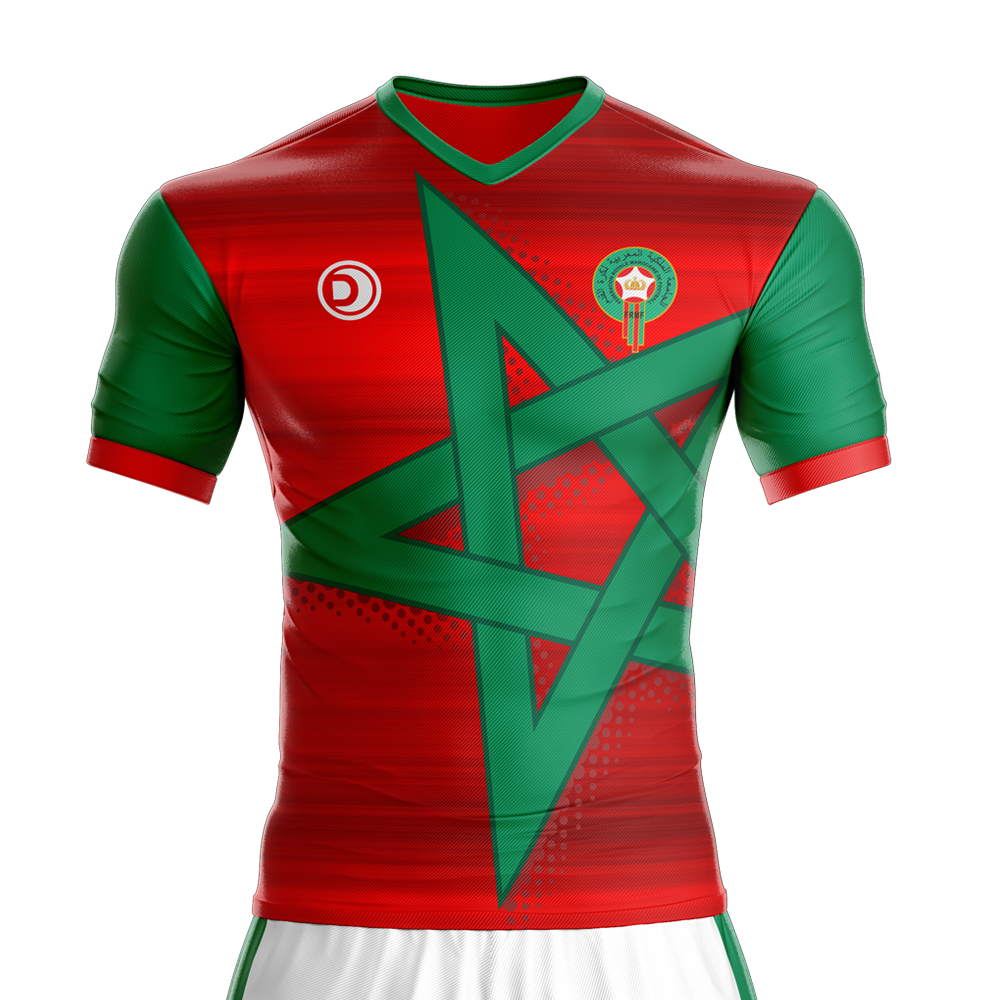 morocco football jersey world cup 2018 fussball. Black Bedroom Furniture Sets. Home Design Ideas