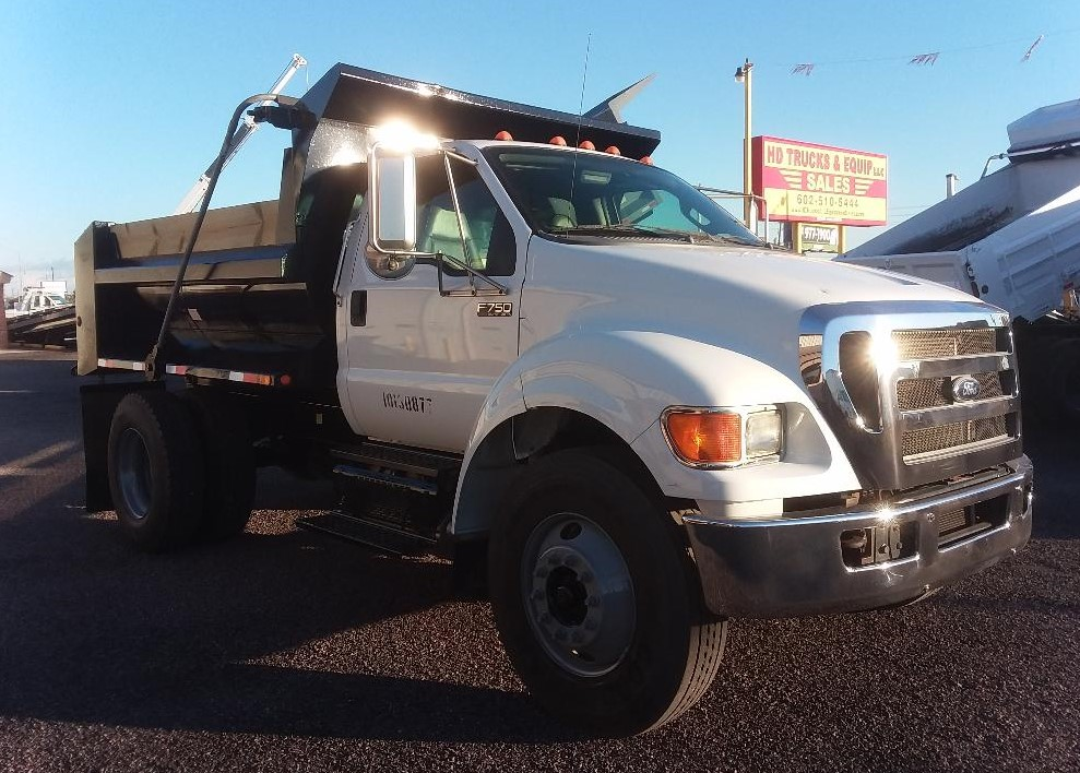 2012 Ford F750 Dump Truck Only 21 000 One Owner Miles Cummins 6 7 Auto Ac Cruise 10 Ft Ledwell 5 6 Yard As In 2020 Dump Trucks For Sale Trucks Trucks For Sale