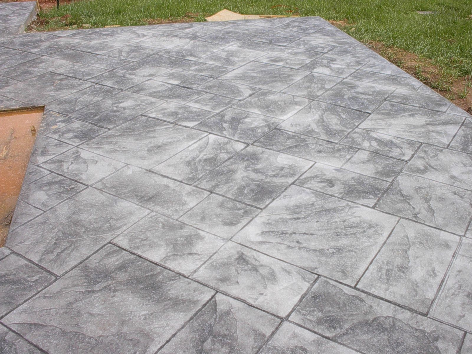 stamped concrete patios outdoor decor pinterest stamped