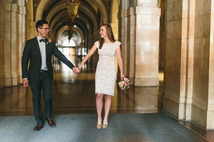 Chicago City Hall Wedding By Megansaul