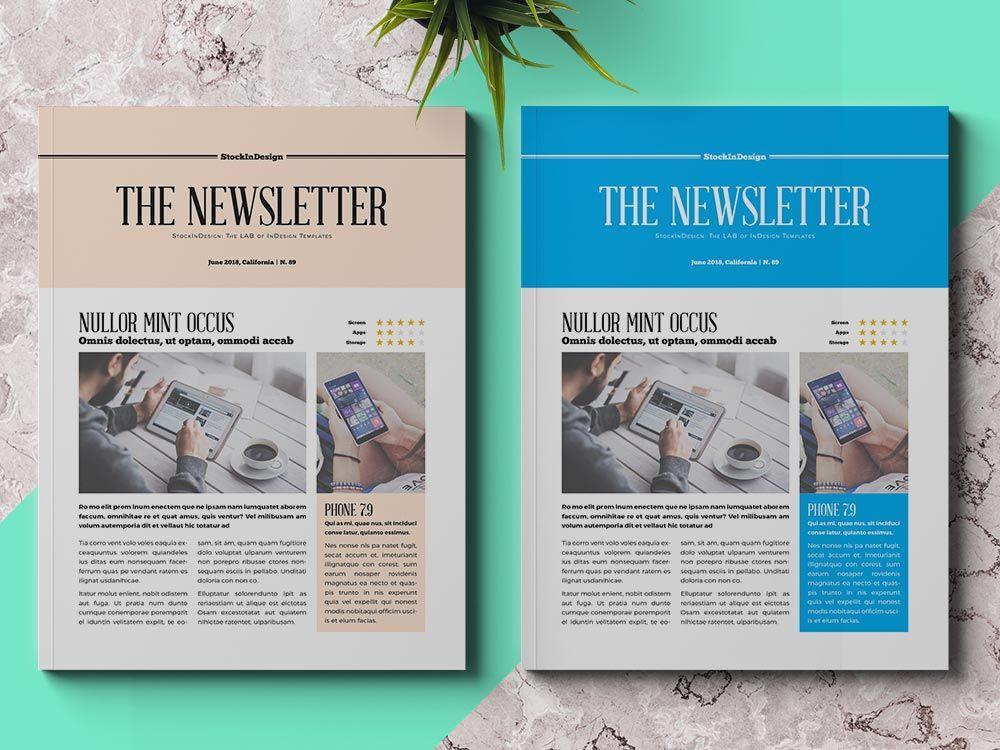 Newsletter Simple Design Newsletter Design Layout Business Newsletter Design Newsletter Design