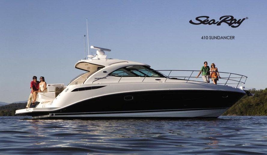 Sea Ray 410 Sundancer Offshore Boats Sea Ray Boat Cruiser Boat