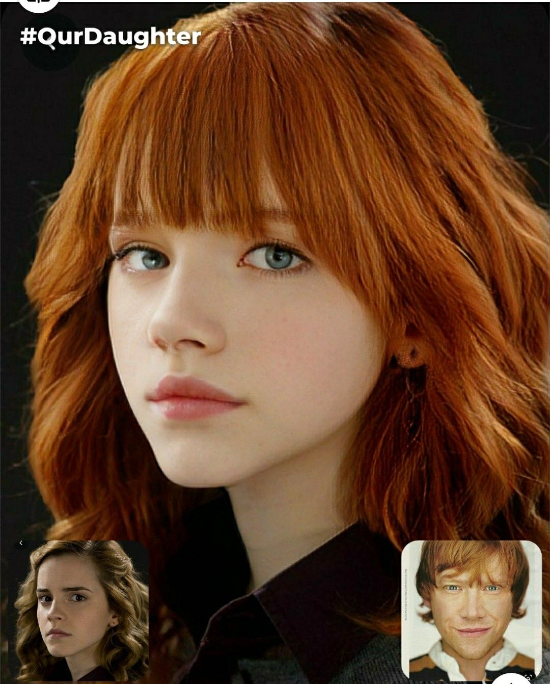 This Is Rose Weasley The Daughter Of Ron And Hermione Harry James Potter Harry Potter Actors Harry Potter Anime