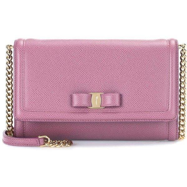 Vara flap shoulder bag - Pink & Purple Salvatore Ferragamo AqQ5e6cfR
