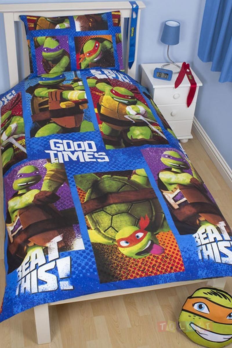 Parure De Lit Tortues Ninja Ninja Toluki Single Duvet Teenage Mutant Ninja Turtles Duvet Sets