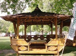 mobilier en bambou | Vente mobilier/abris jardin en bambou à ...