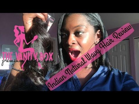 INDIAN NATURAL WAVY REVIEW | THE VANITY BOX - YouTube