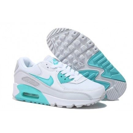 Nike Air Max 90 Womens White Mint Green Shoes Air Max Mint Green Shoes Nike Air Max Green Nike Shoes