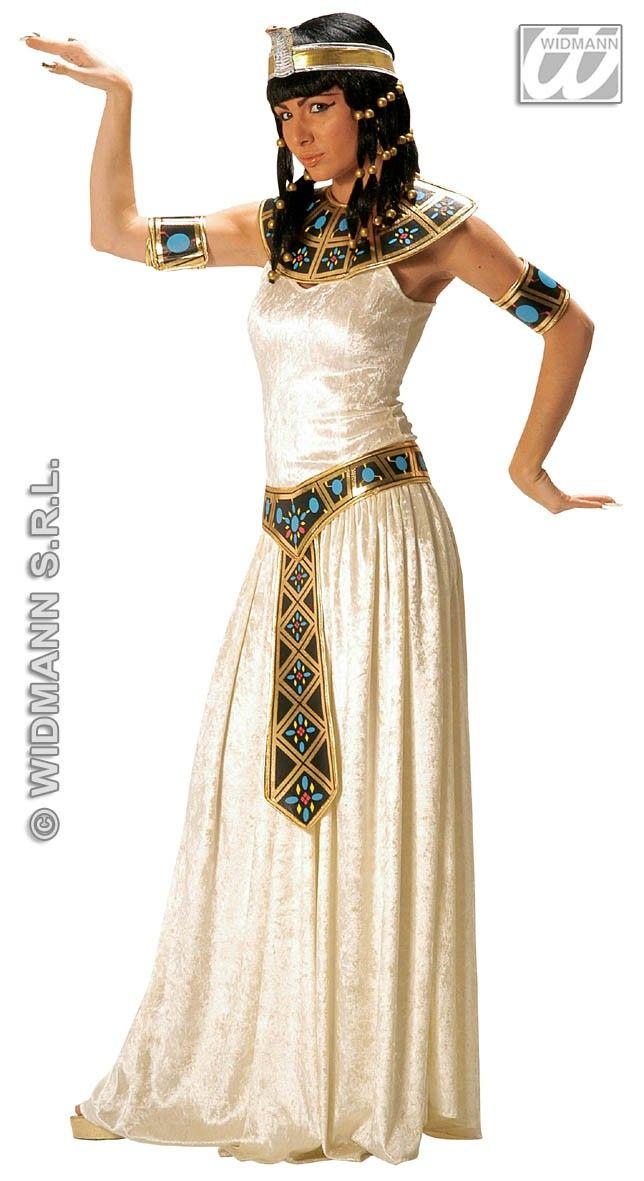 Ladies Deluxe Egyptian Empress Cleopatra Fancy Dress Costume