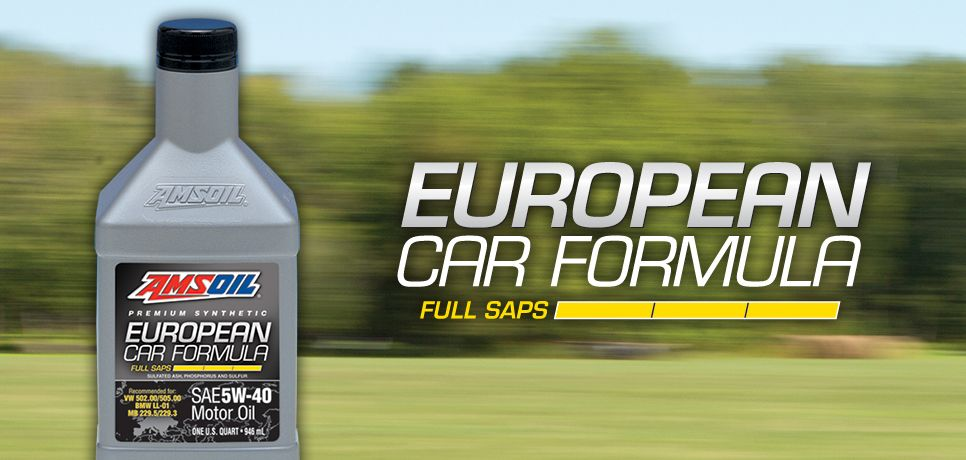 Amsoil European Car Formula Air Filters Oil Filters European
