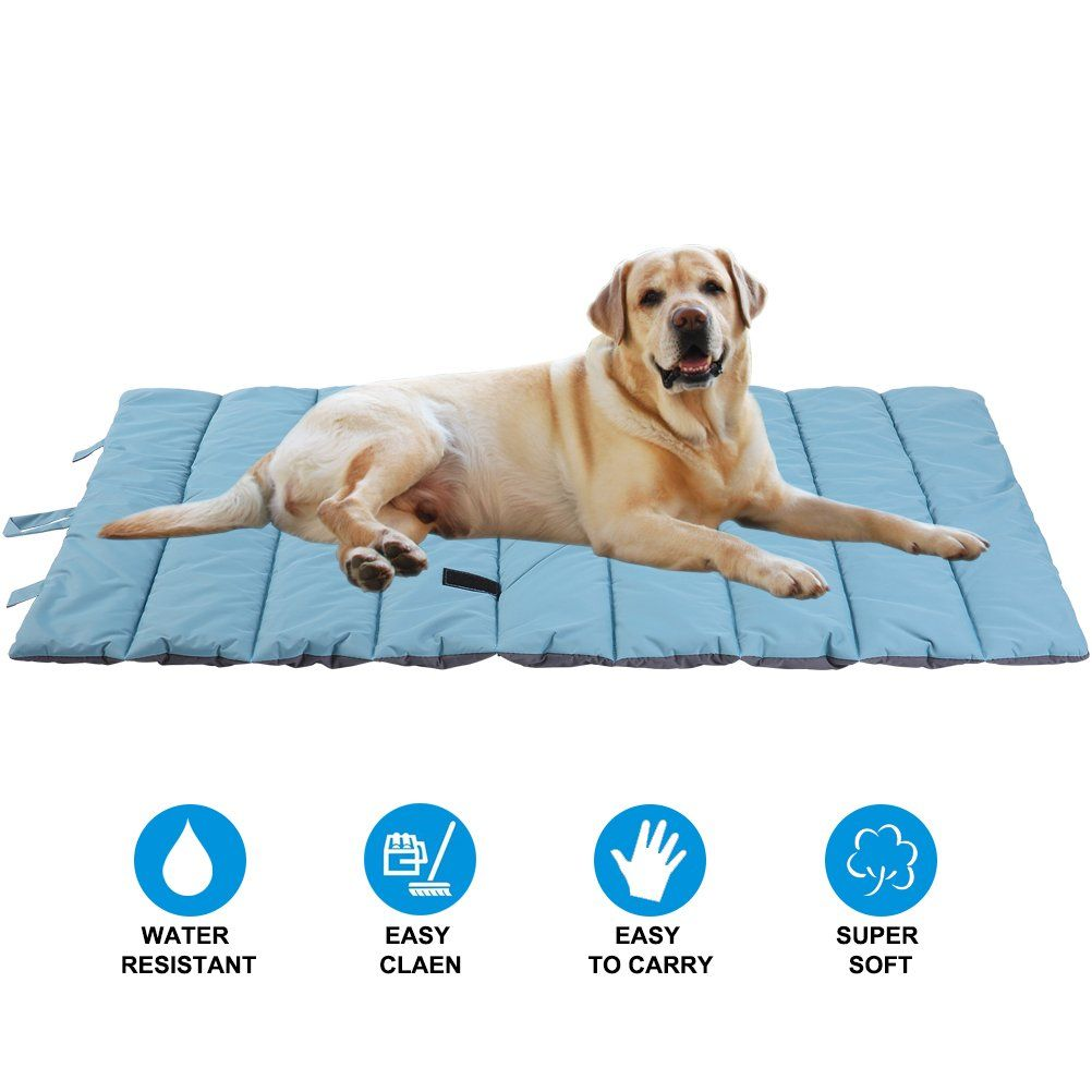 Pupteck Waterproof Pet Bed Mats Cover For Cat And Dog Outdoor