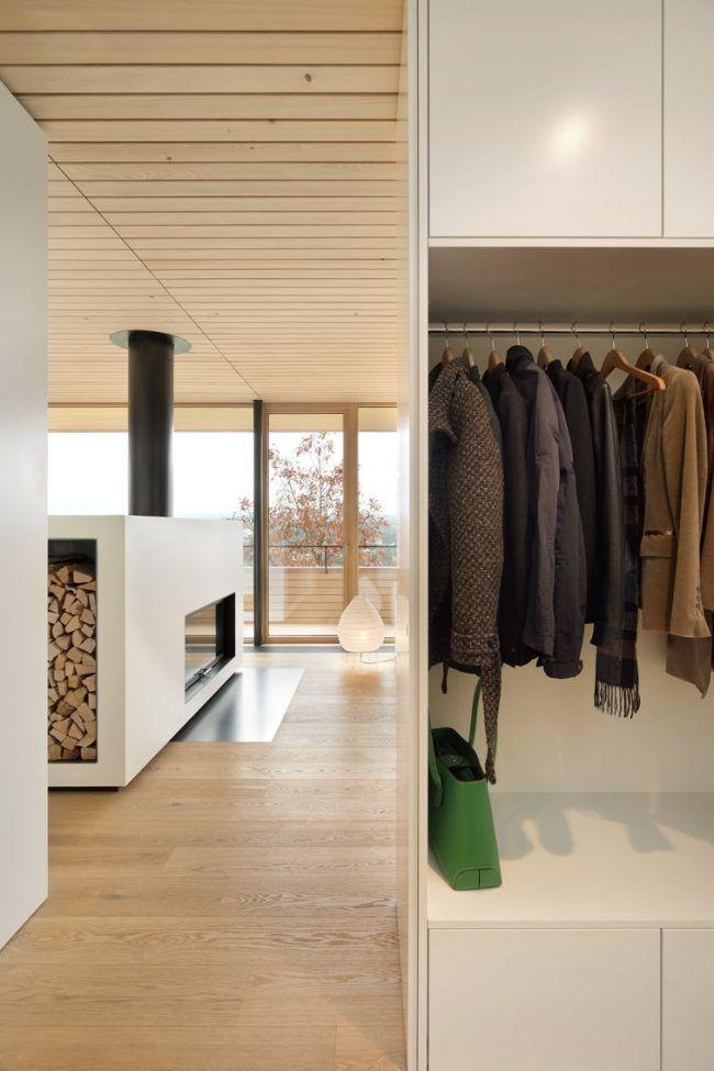 haus holzfußboden holzdecke flur garderobe Bauen Pinterest Haus - holz decke haus design bilder