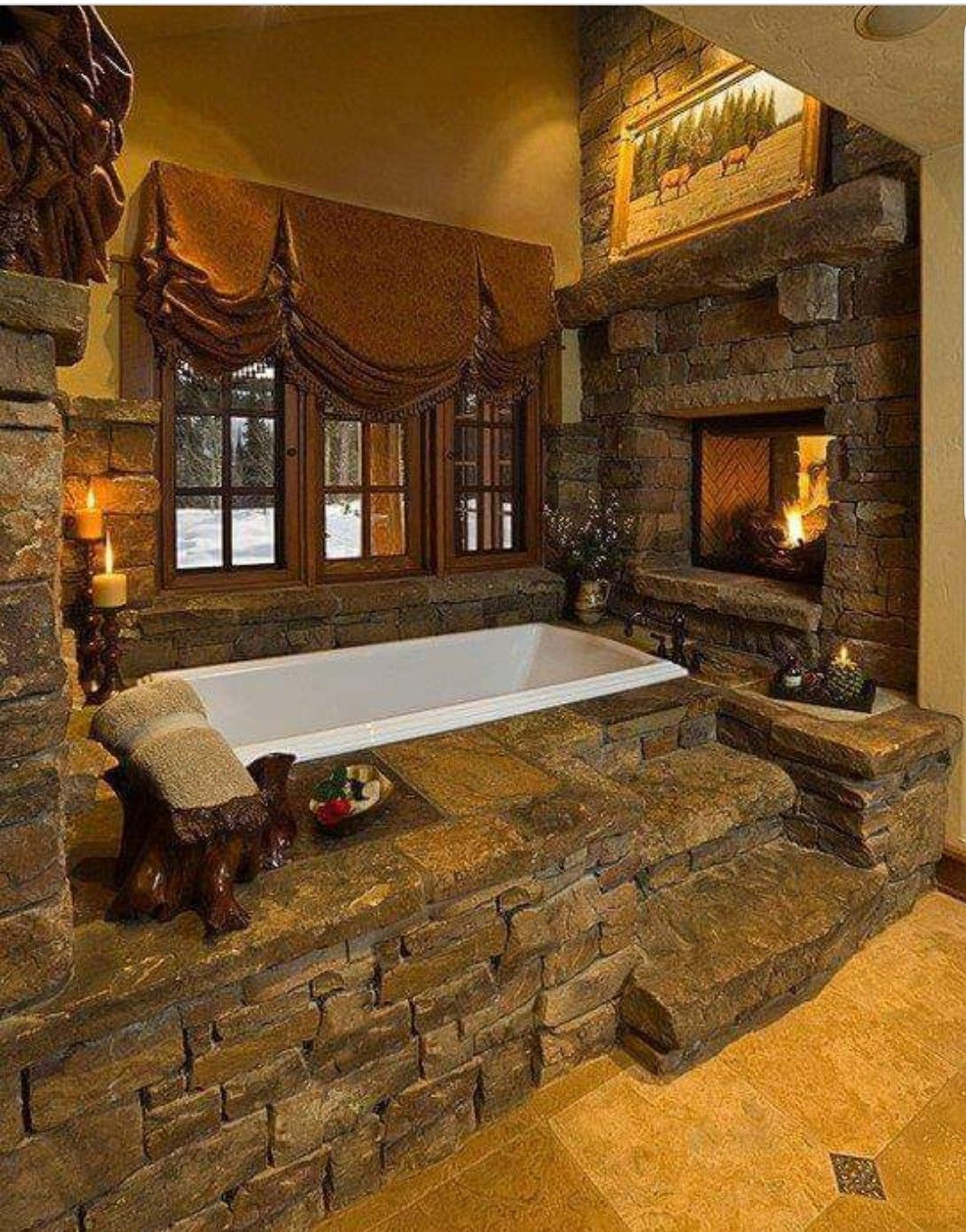 Pin By Stephanie Summit On Bathroom Ideas Rustic Bathroom