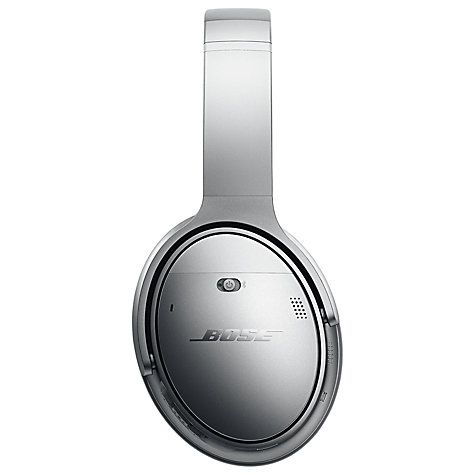 3f75eec0cf6 Buy Bose® QuietComfort® Noise Cancelling® QC35 Over-Ear Wireless Bluetooth  NFC Headphones With Mic/Remote Online at johnlewis.com