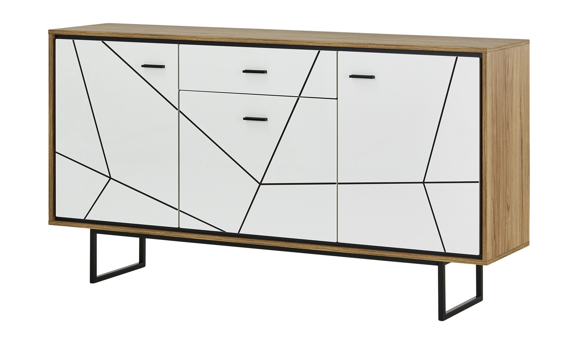 Sideboard Arezzo Weiss Masse Cm B 167 H 90 3 T 40 Kommoden