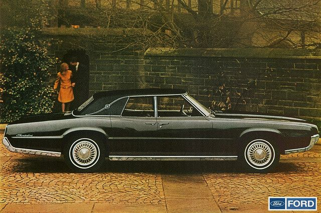 1967 Ford Thunderbird 4-Door Landau. Owned a '68 just like this- it was kind of a mix of a lot of years- obviously not original. Love this car.