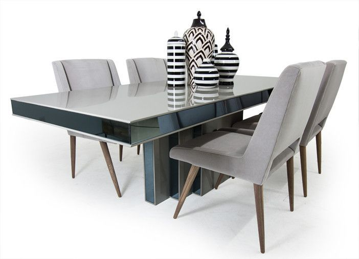our art deco dining table has an amazing architectural quality to it  its streamlined nature is considerably elevated by its grey high gloss lacquer and     mi padre quita la mesa    mi casa   pinterest   high gloss art      rh   pinterest com