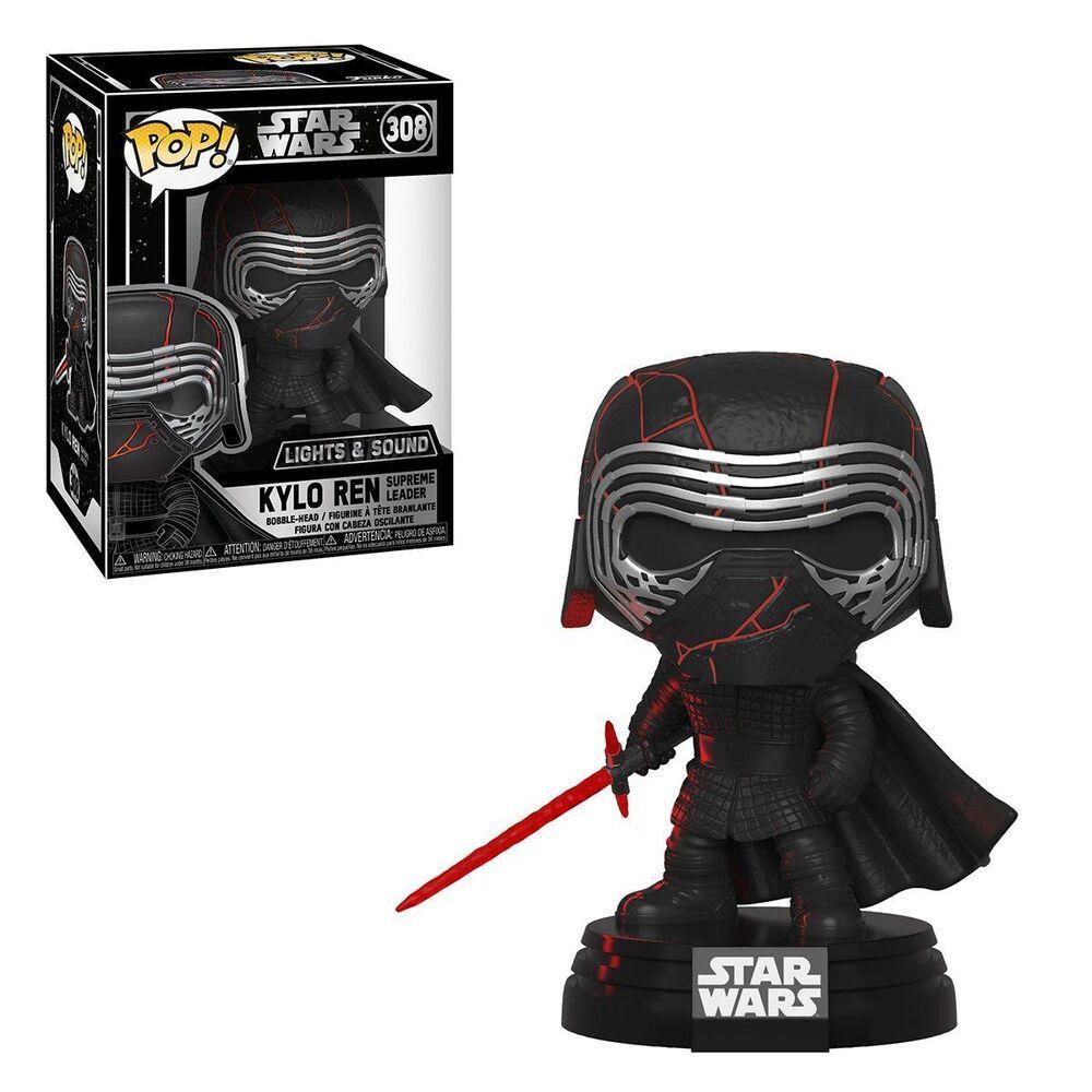 Funko Pop Star Wars Rise Of Skywalker Kylo Ren Electronic Fye Funko Pop Star Wars Star Wars Kylo Ren Star Wars Merch