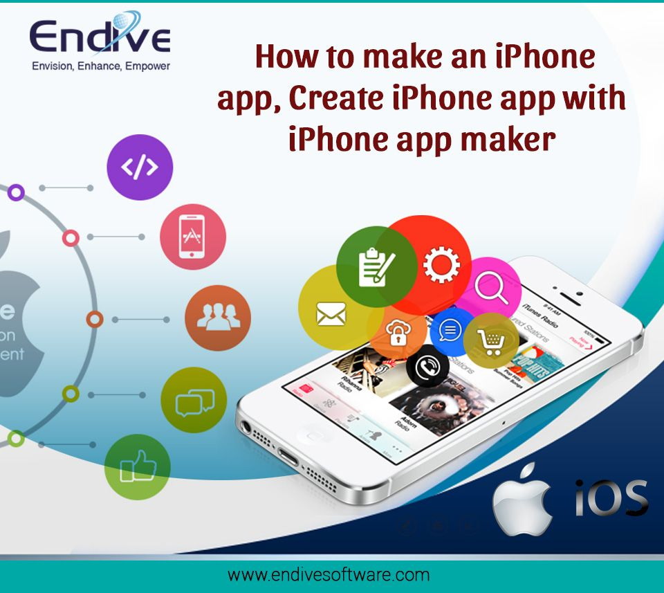 How To Make An IPhone App, Create IPhone App With IPhone