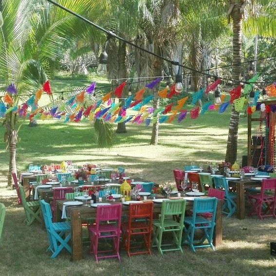 Mexican Wedding Furniture At Sayulita. Mobva Puerto Vallarta