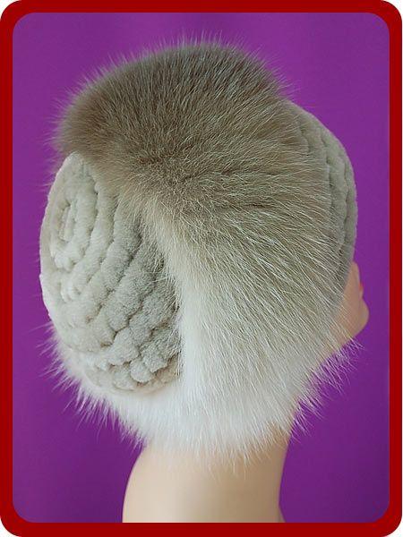 шапки. вязание с мехом. идеи. Обсуждение на LiveInternet ...
