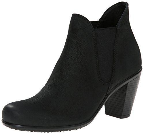 Shape 75, Bottes Femme, Noir (Black/Black), 41 EUEcco