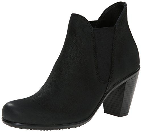 Babett Wedge, Bottes Femme, Noir (Black), 41 EUEcco