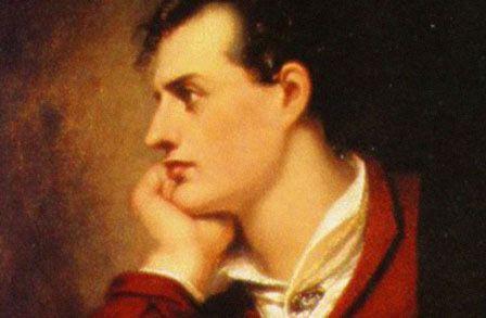 """Lord Byron (Reino Unido, 1788-1824): """"El que cae desde una dicha bien cumplida, poco le importa cuán hondo sea el abismo"""".[George Gordon: The Poetry Foundation]"""