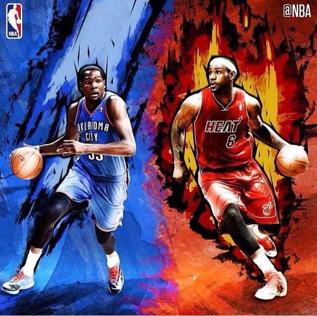 6307a3b54dcb Kevin Durant vs LeBron James