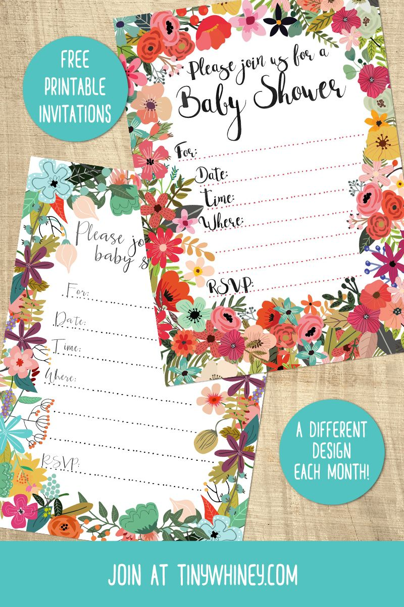 Free printable baby shower invitations | boho baby shower ...