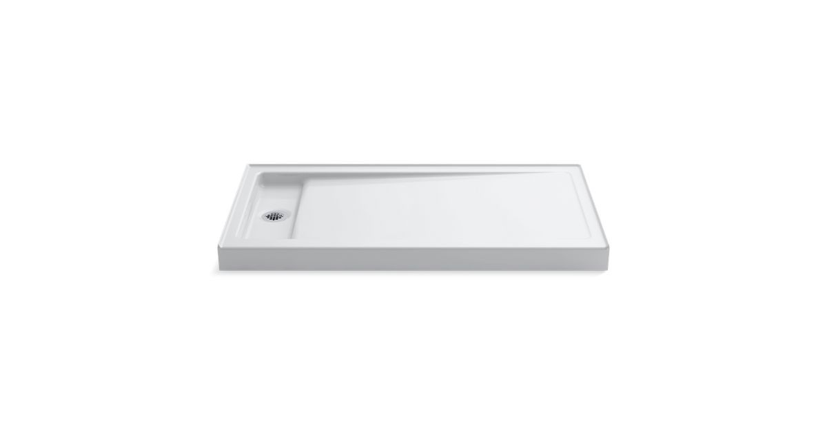 The K 9165 Shower Base Features Kohler Enameled Cast Iron And A