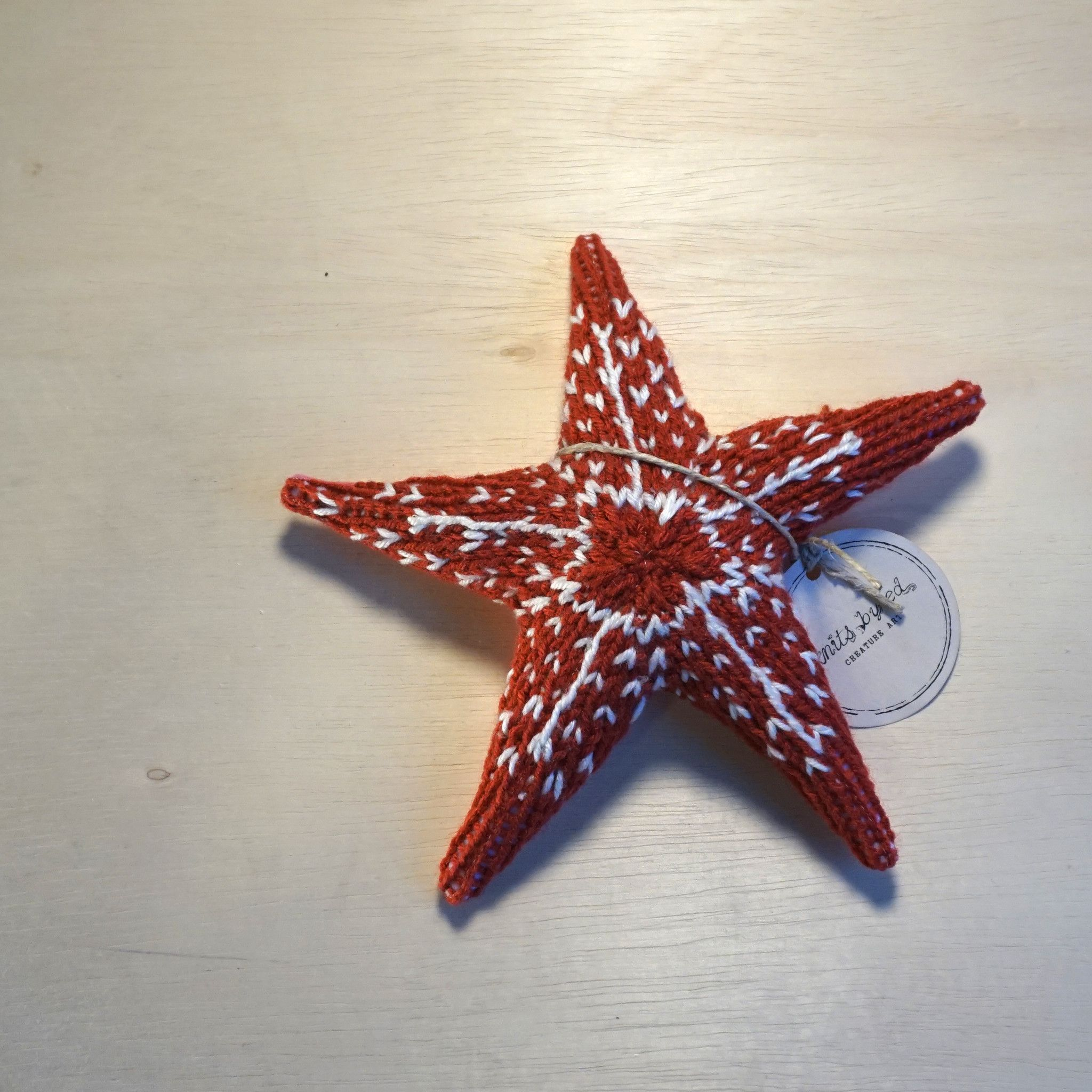 Sea Star Small Pillow