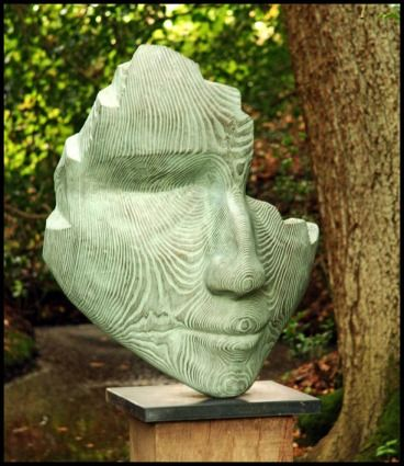 face sculpture