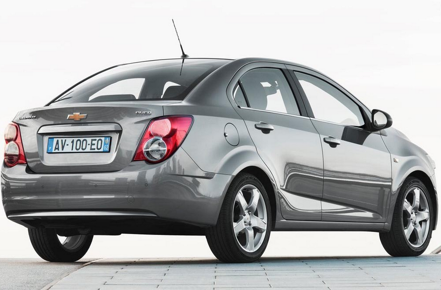 Chevrolet Aveo Earlier Introduced A New Model For The Year 2014
