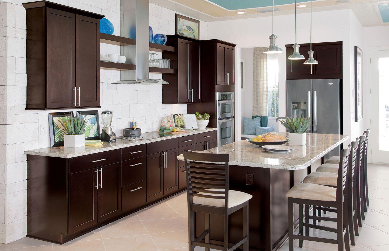 Sonoma Maple Espresso Kitchen Beautiful Kitchen Cabinets Espresso Kitchen Cabinets Kitchen Design
