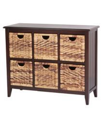 For Living Verona Wicker Chest  Drawer